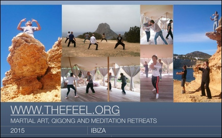 NEW SlideShow / ZenmaX Natural Tuning retreat Ibiza - martial art, qigong & meditation week
